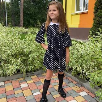 Плаття для маленької леді з льону
