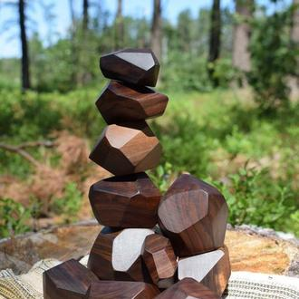 Туми -Иши . Деревянные камни Туми Иши