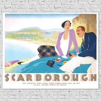Плакат LNER Скарборо, 1932