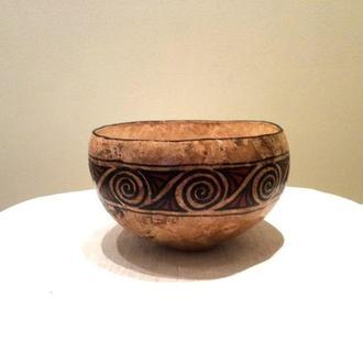 Декор-ваза из тыквы