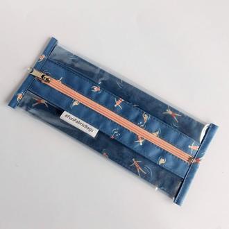 Чехол для зубной щетки #FunFabricBags (синий)