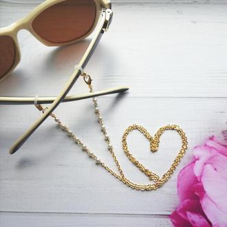 Цепочка для очков Love classic. Ланцюжок для окулярів Закоханість в класику.
