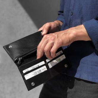 Кожаный кошелёк