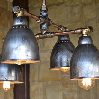 медный светильник