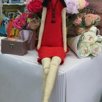 Портретная кукла в стиле Тильда