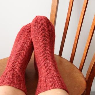 В'язані шкарпетки Карпатські овечки (3)