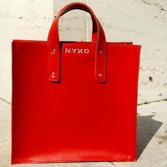 Сумка шоппер compact (red)