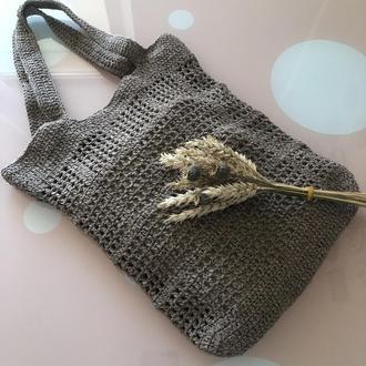 Вязаная сумка - авоська