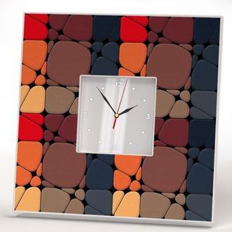 """Дизайнерские часы """"Квадраты. Абстракция"""""""