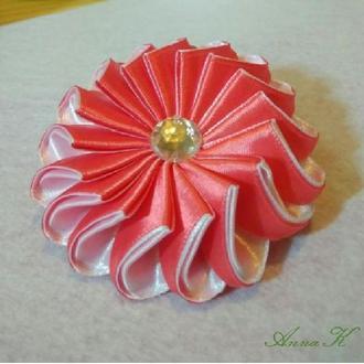 """Прикраса для волосся """"Рожева Зефірка"""""""