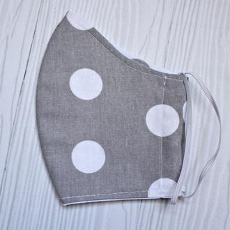 Маска для лица Текстильная