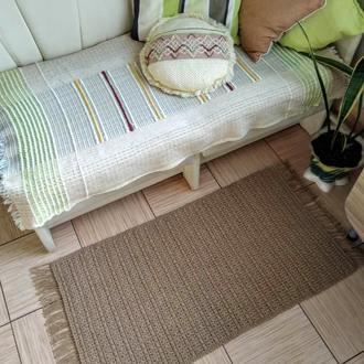 Эко коврик с бахромой Коврик дорожка