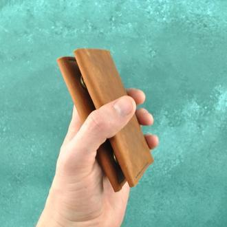 Мини кошелек из натуральной кожи