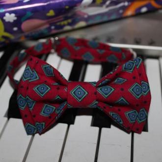 Галстук-бабочка стильная, для мальчиков и девочек