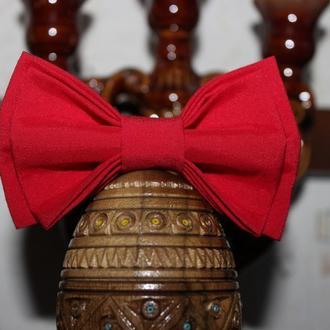 Галстук-бабочка красная