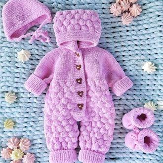 Комбинезон для новорожденного, комплект для девочки