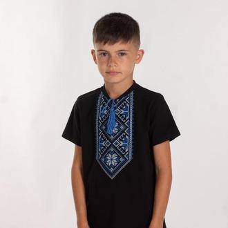Вишита футболка для хлопчика (6024)