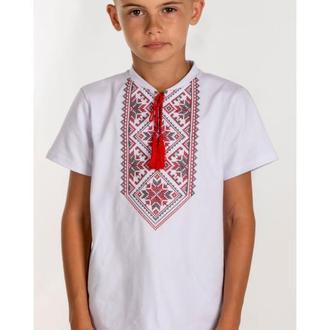 Вишита футболка для хлопчика (6023)