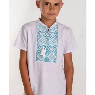 Вишита футболка для хлопчика (6022)
