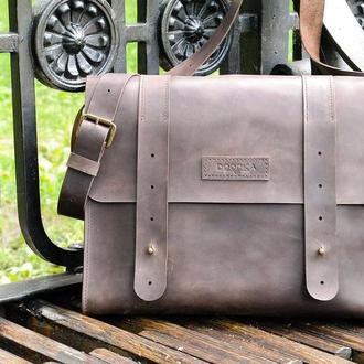 Стильная кожаная сумка «Рrincipal»