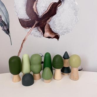 Набор деревянных игрушек «Лес»