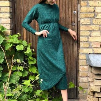 Весеннее платье с рукавом