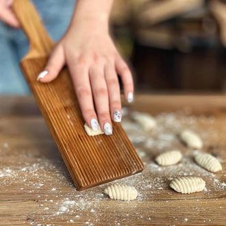 Дошка деревянная для ньокки