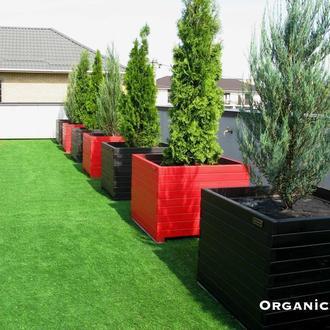 Боксы, ящики, кашпо для туй, деревьев, растений, цветов из натурального дерева TM Organic Box Киев