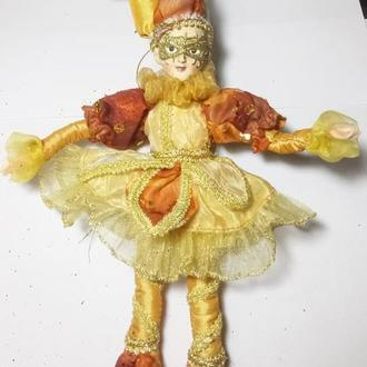 Вентажная кукла Шут