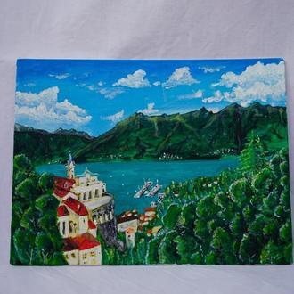 """Картина акрилом """"Швейцарія"""""""