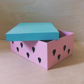 """Подарочная коробка """"Арбуз"""""""