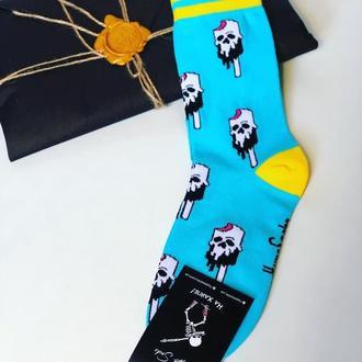 Яркие крутые носки «смертельная жара»