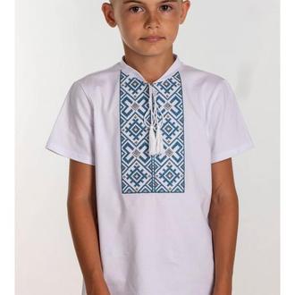 Вишита футболка для хлопчика (6021)