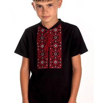 Вишита футболка для хлопчика (6020)