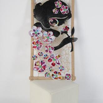 Панно декоративное на стену Незнакомка