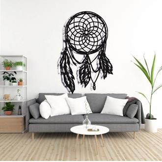 Ловец снов - Деревянный декор на стену