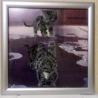 Картина Котенок (алмазная мозаика)