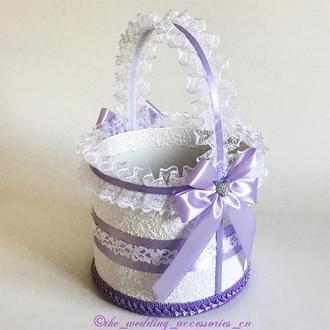Свадебная корзинка (сирень)
