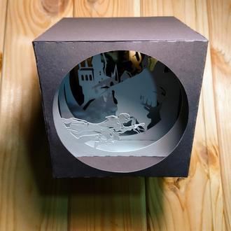 "Бумажный туннель ""Гарри Поттер"""