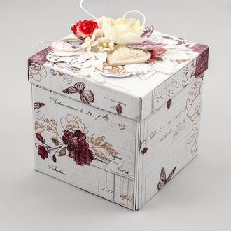 Коробочка Magic Box с тортом внутри