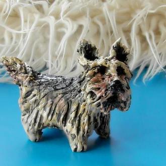 Фігурка у вигляді собачки Сувенір собака йоркширский терьер