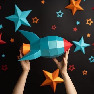 Ракета в звездах
