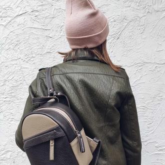 Рюкзак Lullaby  .Кожаный рюкзак женский .Стильный кожаный рюкзак . Шкіряний рюкзак .