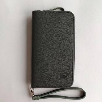 Чоловічий гаманець . Стильный мужской кошелек , портмане , клач .