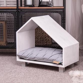 Деревянный домик Pets Lounge Pet House White 50х30х47 см