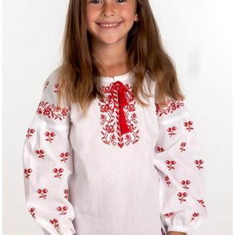 Вышиванка для девочки (6027)