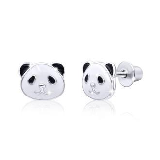 Сережки Панда