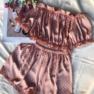 Невесомая шелковая пижама