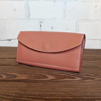 Жіночий гаманець, портмоне жіночі, клатч жіночий з натуральної шкіри