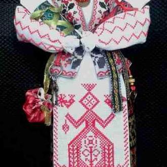 Лялька - мотанка «Два талани», наповнена сушеними травами, 40 см